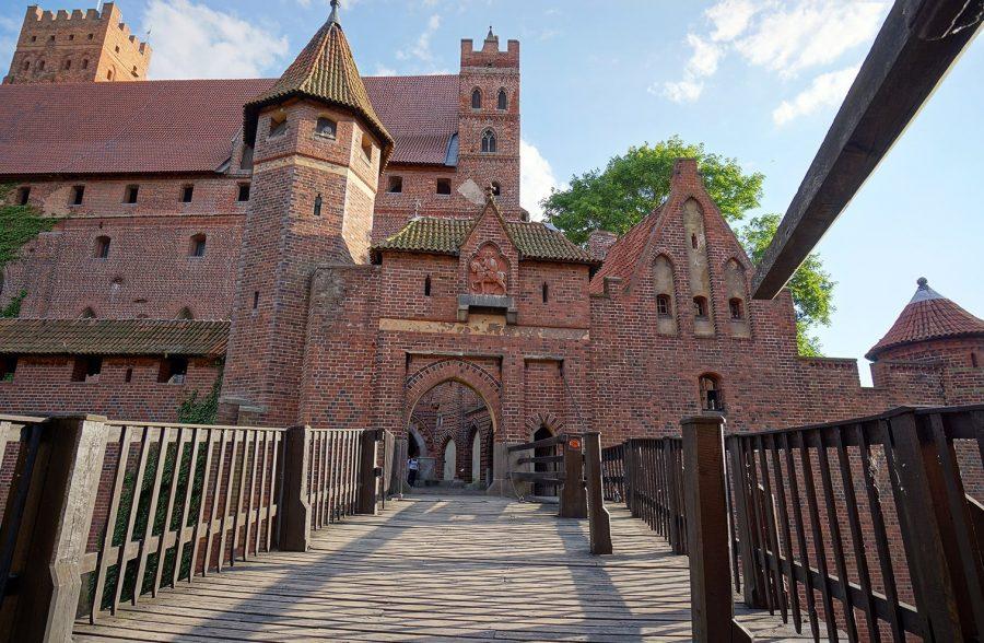 Тевтонский замок в Мальборке