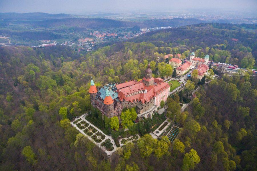 Książ Castle замок в Польше