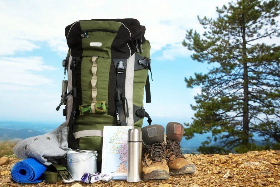 Собранный рюкзак в горы
