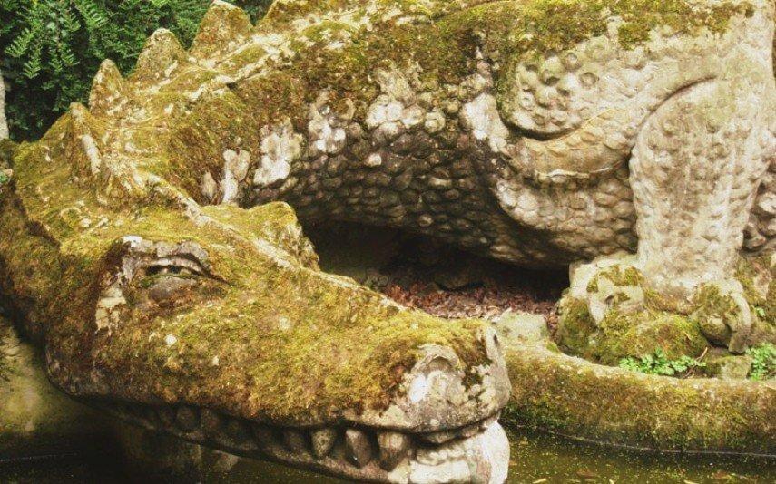 Дракон в Каменном зале Нибелунгов