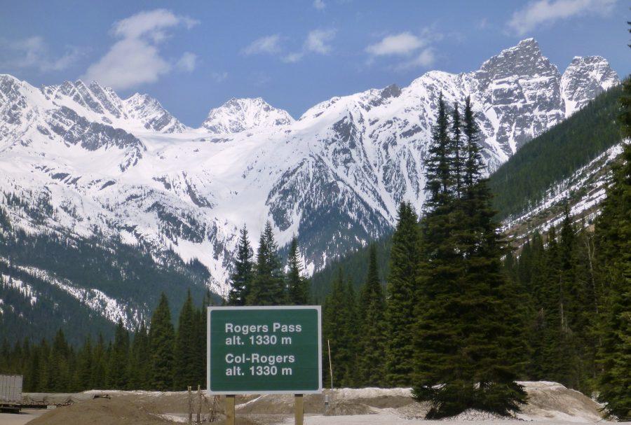 Перевал Роджер Пасс в штате Монтана в США