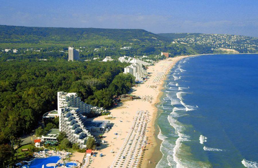 Золотые пески Болгарии на Черном море