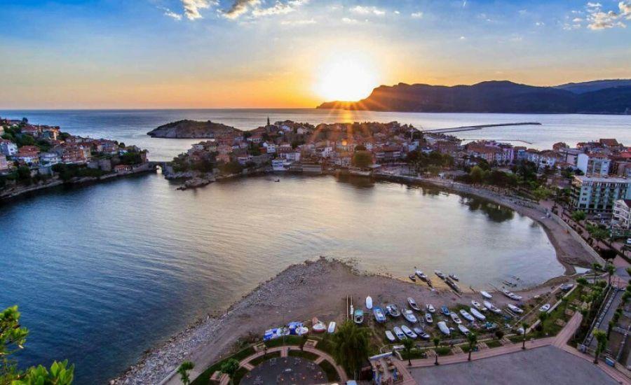 Амасра город на берегу моря