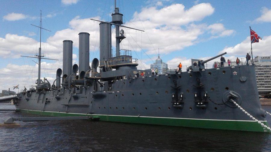 Крейсер «Аврора» музей корабль