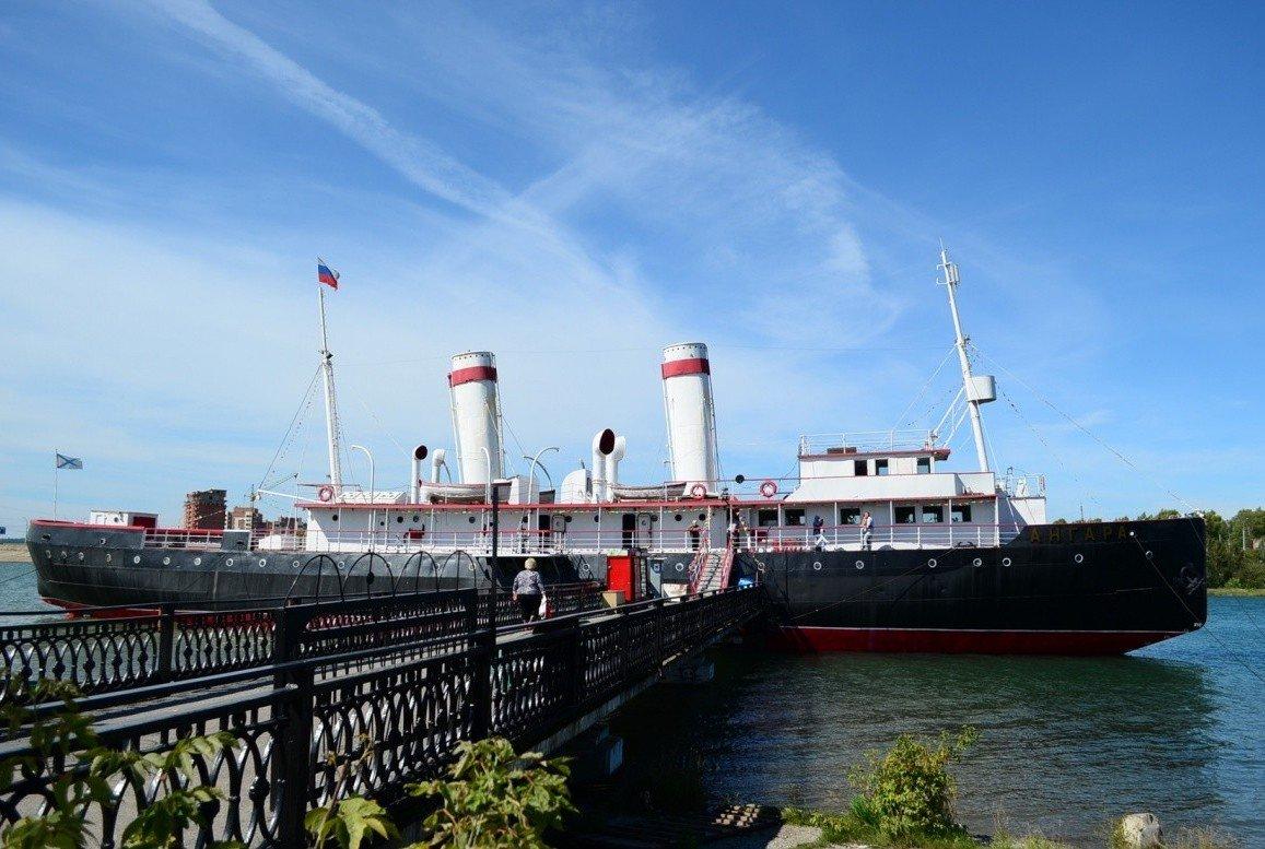 Ледокол «Ангара» корабль музей