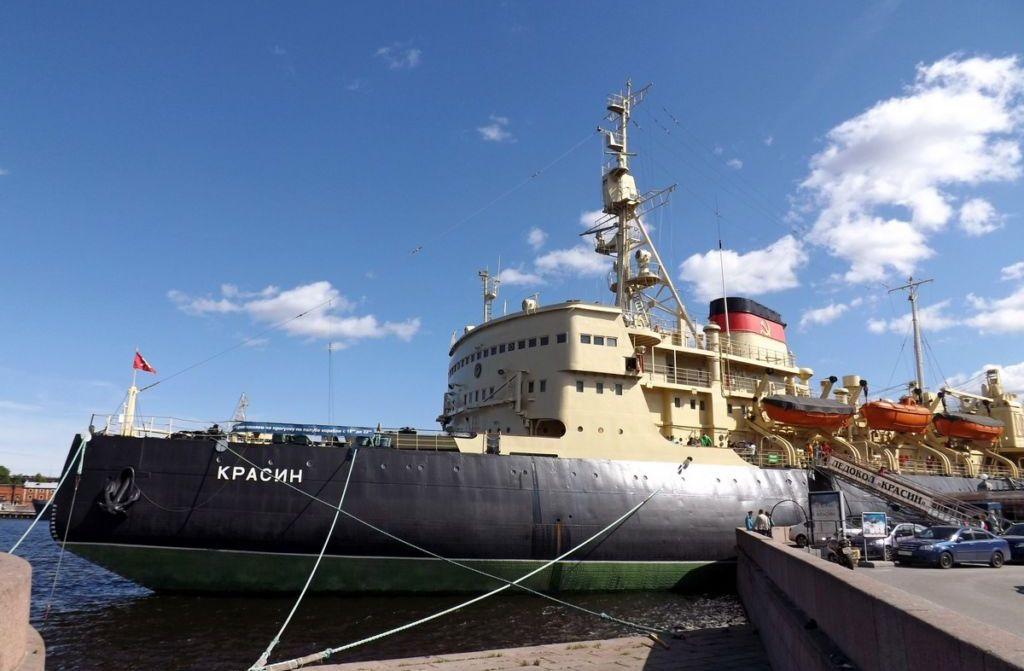 Ледокол «Красин» корабль музей