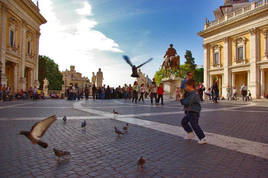 Отдыхать в Риме с ребенком