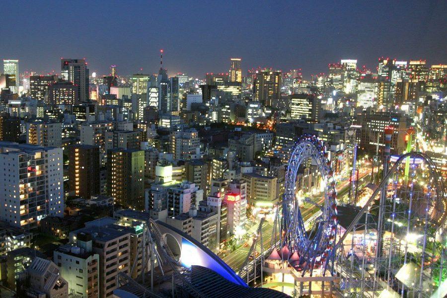 Токио в Японии часто посещается туристами