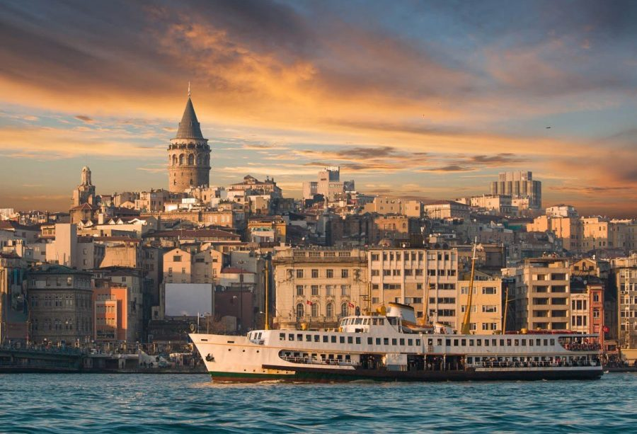 Стамбул в Турции часто посещаем туристами