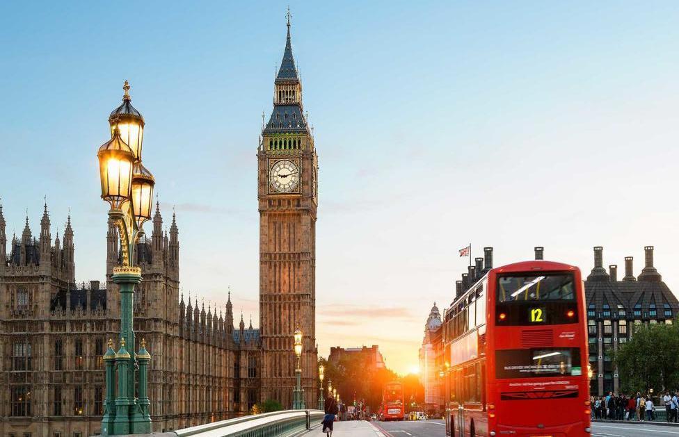 Лондон в Великобритании