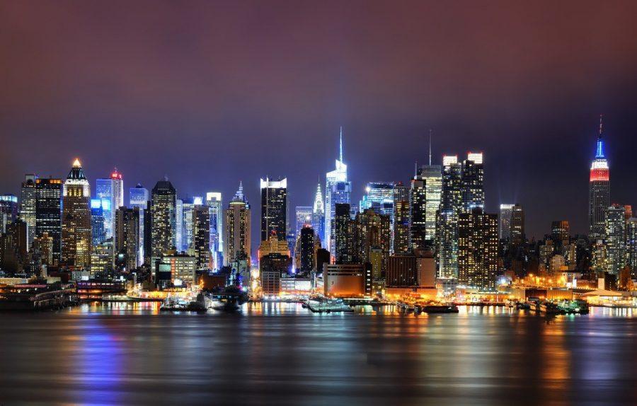 Нью-Йорк в США часто посещаем туристами