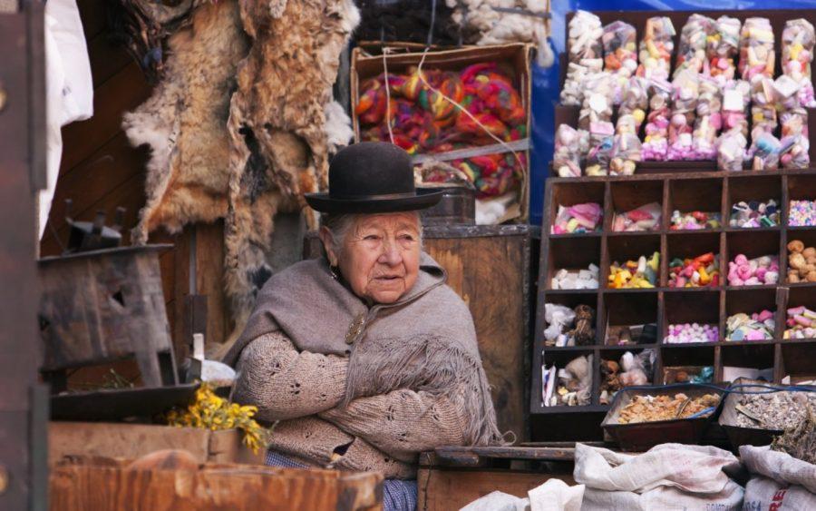 Мистический рынок ведьм в Ла-Пас