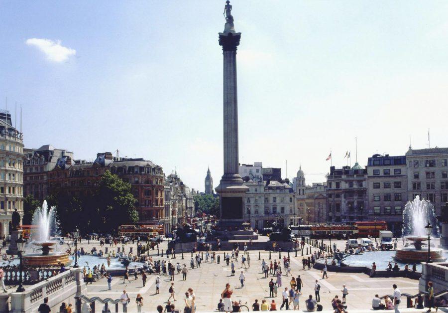 Лондонская Трафальгарская площадь