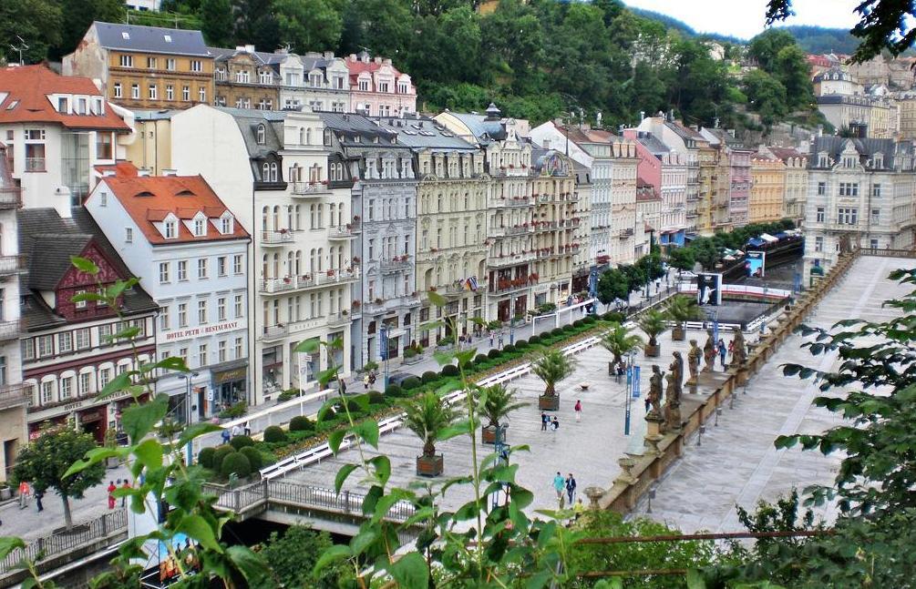 Карловы Вары в Чехии для оздоровления