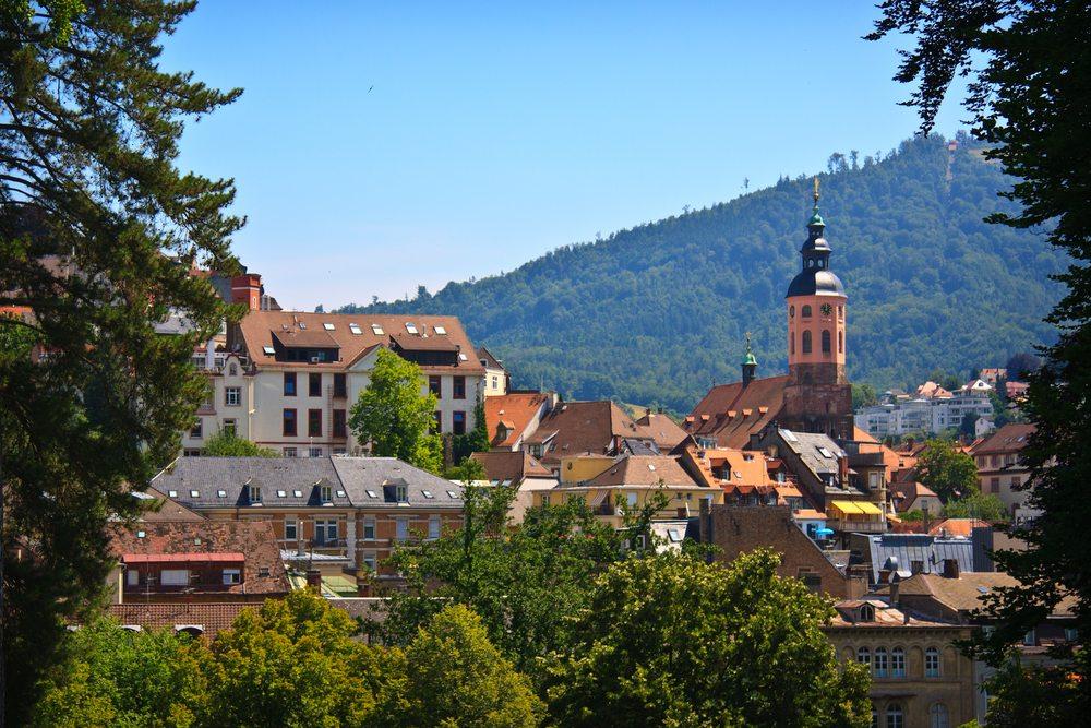 Баден-Баден в Германии для оздоровления