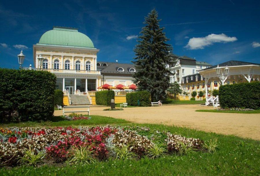 Франтишковы Лазни в Чехии