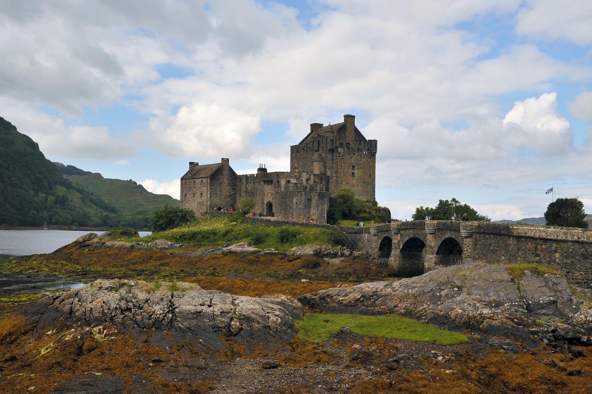 Замок Эйлин Донан, Шотландия