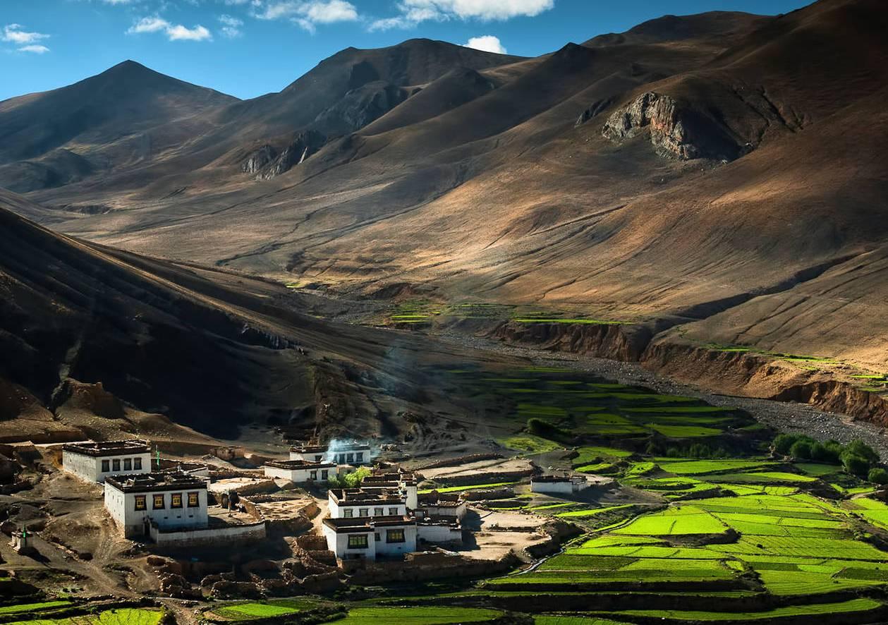 Исчезнувшее государство Тибет