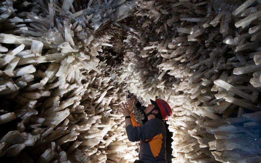 Кристаллическая пещера в Мексике
