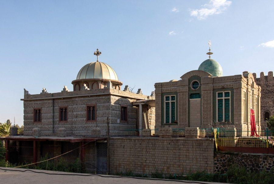 Часовня церкви Марии Сионской в Эфиопии