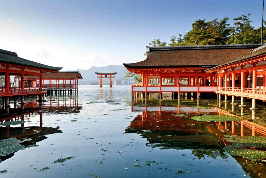 На японском острове Ицукусима