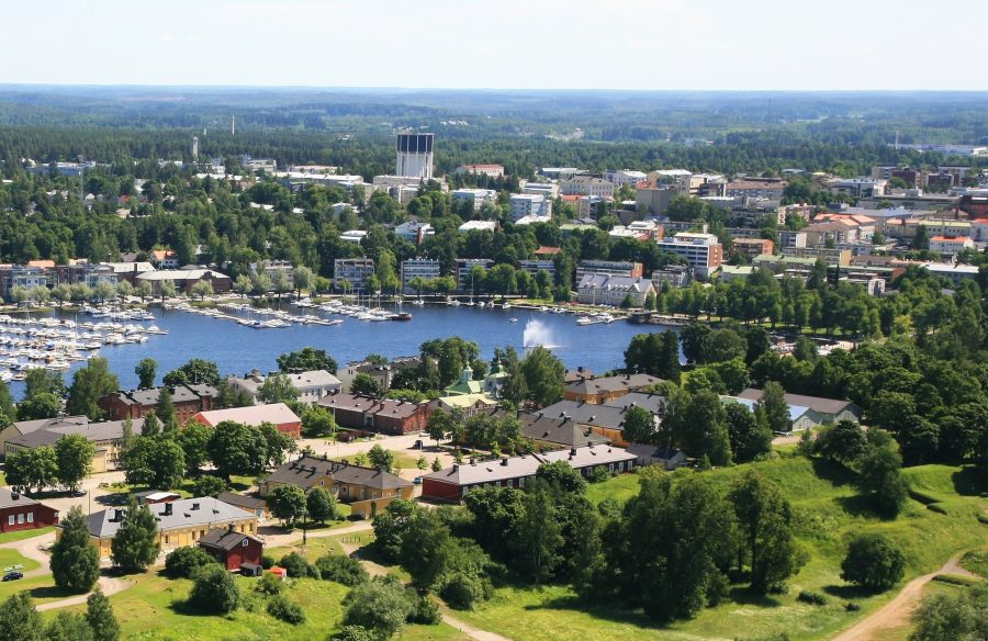 Город Лаппеенранта в Финляндии