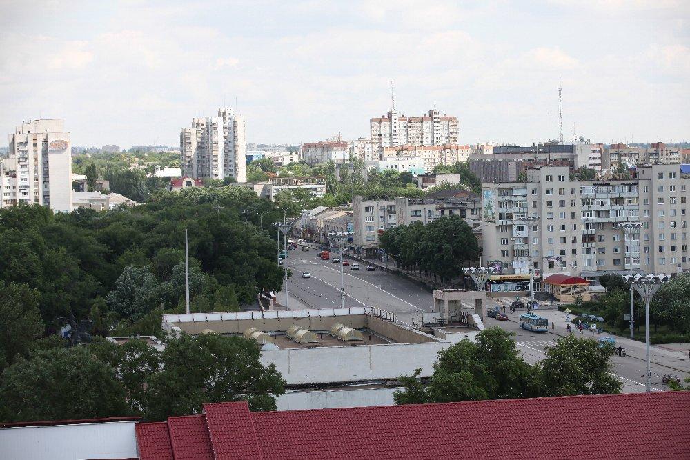 Город Тирасполь в Молдове