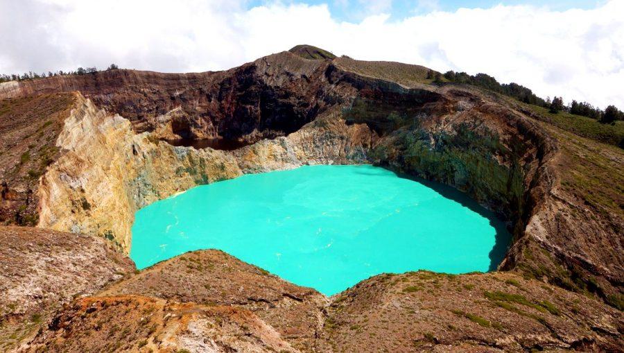 Озеро Келимуту острове Флорес