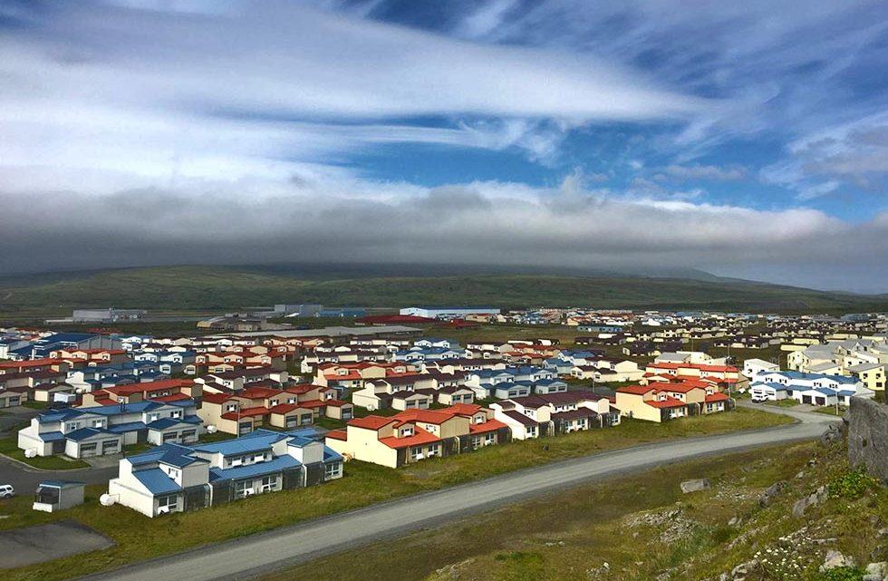 Адак Аляска город на острове