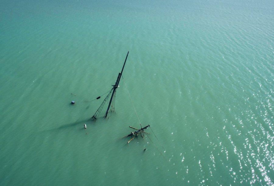 Затонувший фрегат «Сириус»