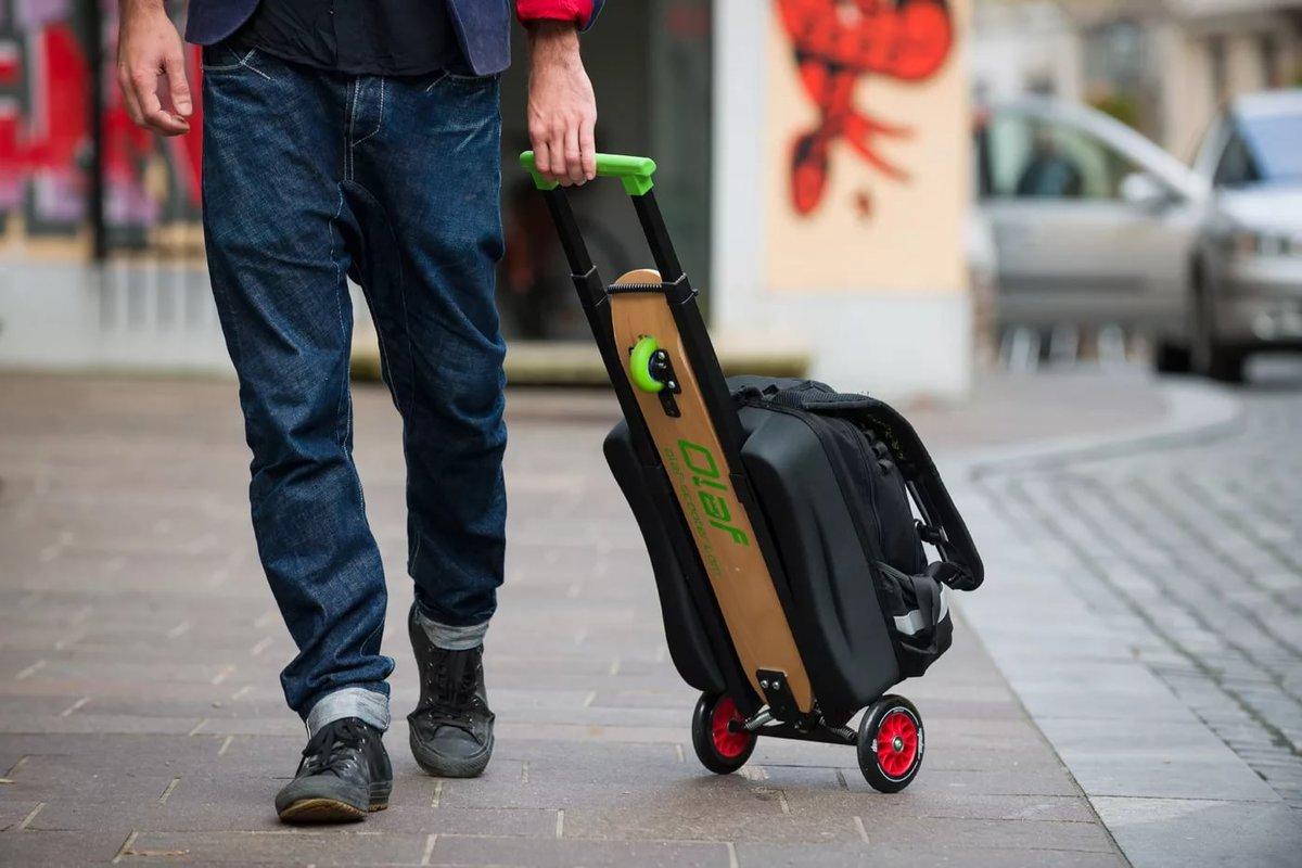 Рюкзак-самокат для путешественника