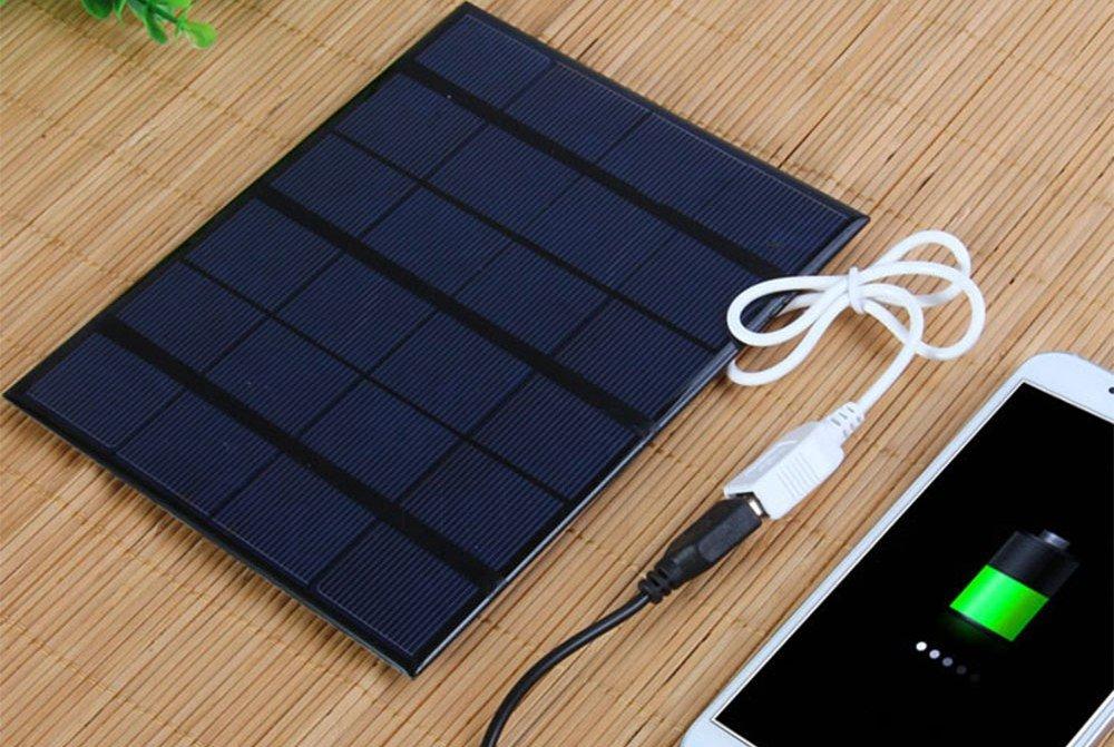 Солнечная батарея в карман