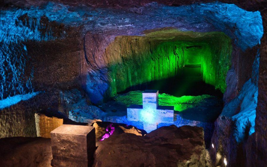 Подземный собор в Колумбии