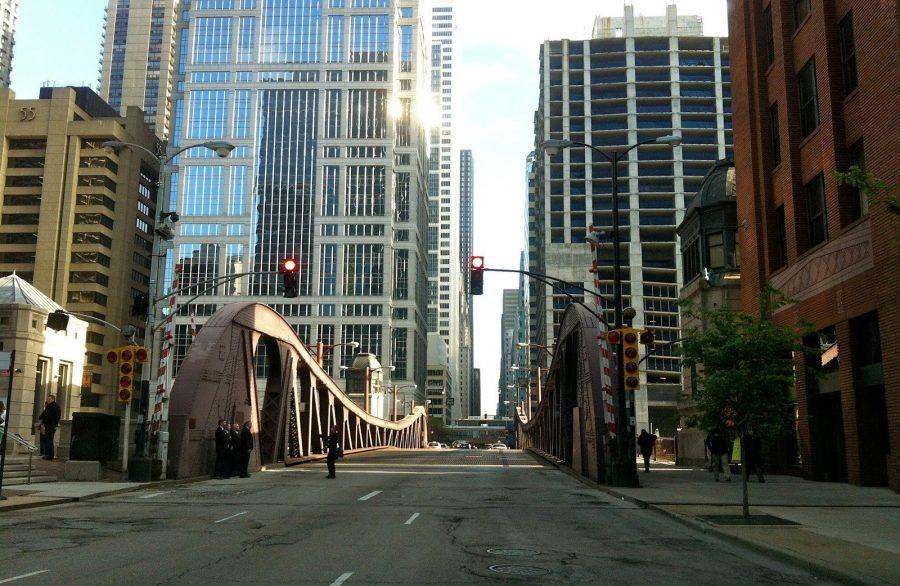 Длинный проспект в Чикаго