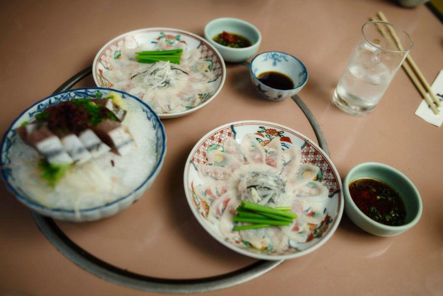Рыба фугу японское блюдо