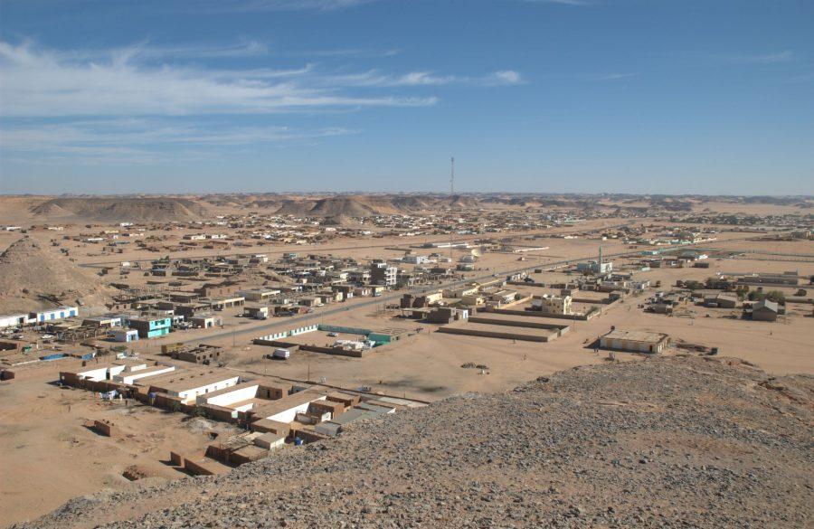 Город Вади-Хальфа в Судане