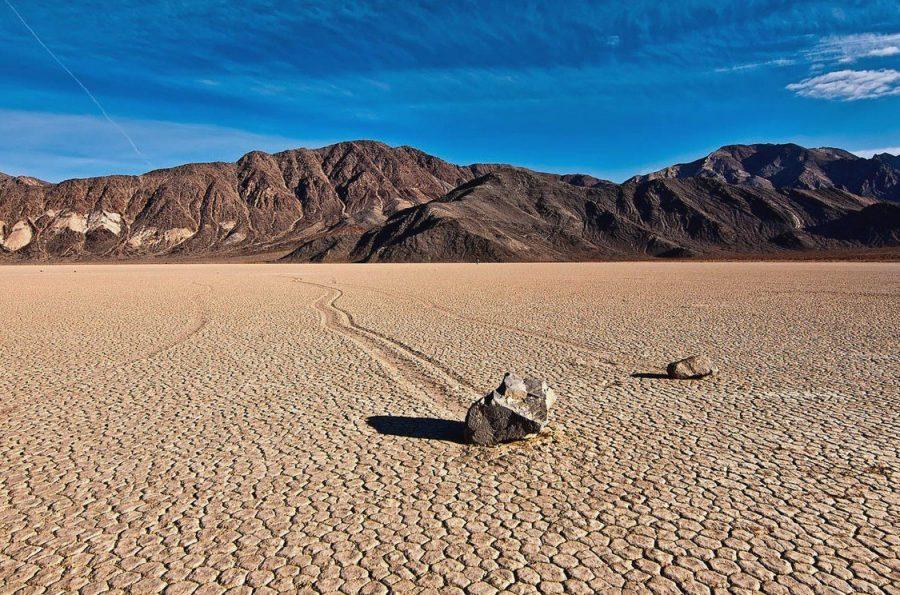 Жаркая Долина Смерти в США