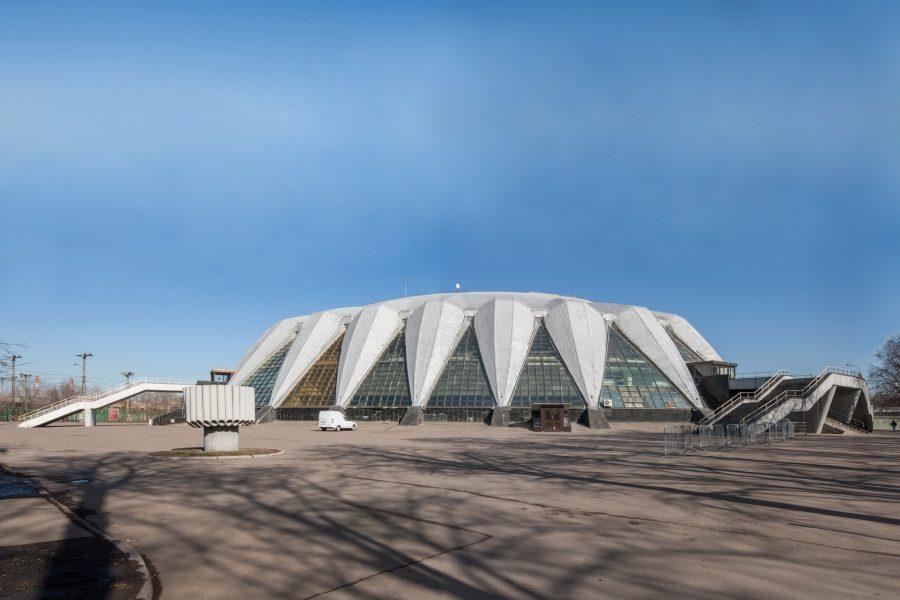 Необычное здание УСЗ «Дружба» в Москве