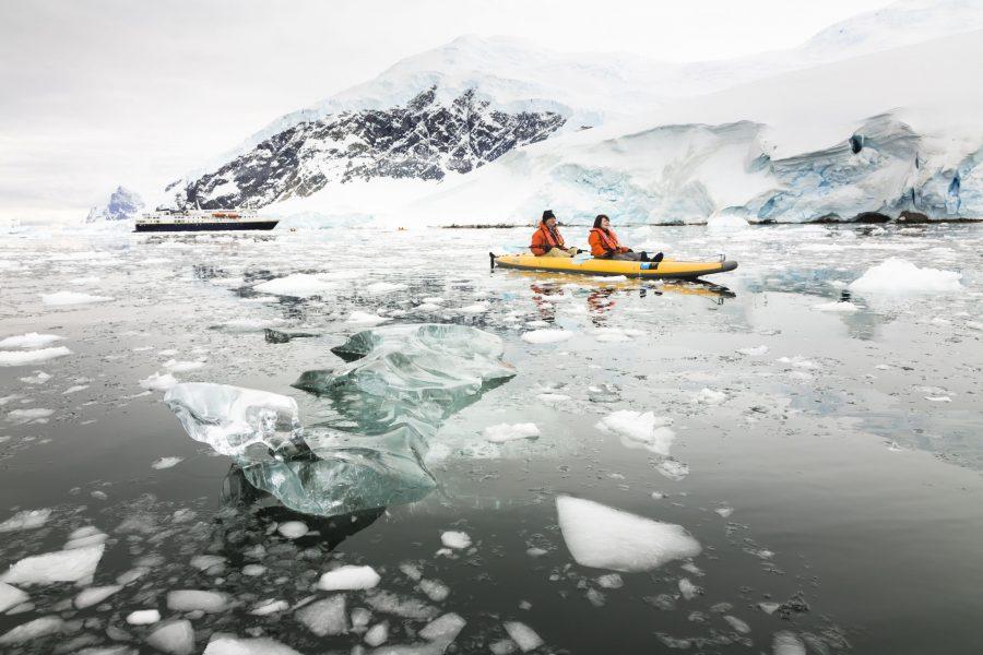 Антарктида экстремальное путешествие