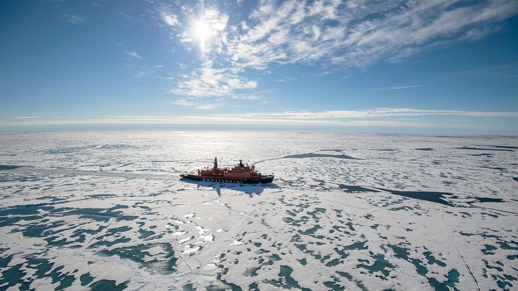 Северный полюс путешествие