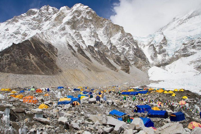 Путешествие в базовый лагерь Эвереста