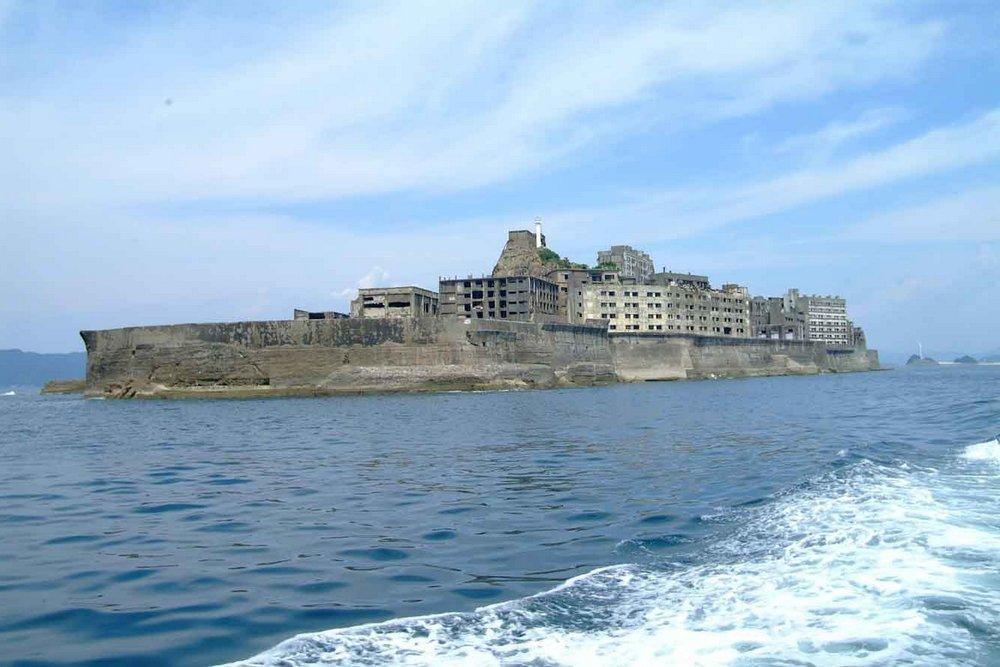 Остров-крейсер Хасима, Япония