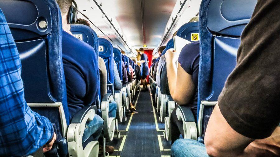 Подлокотники в самолете для пассажиров