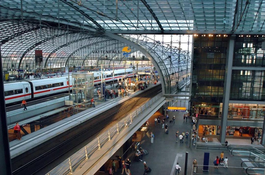 Центральный берлинский вокзал