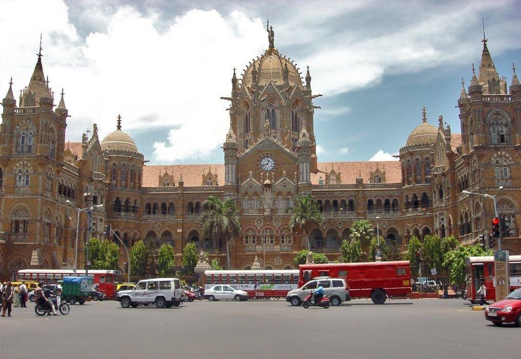 Вокзал индийского Мумбая