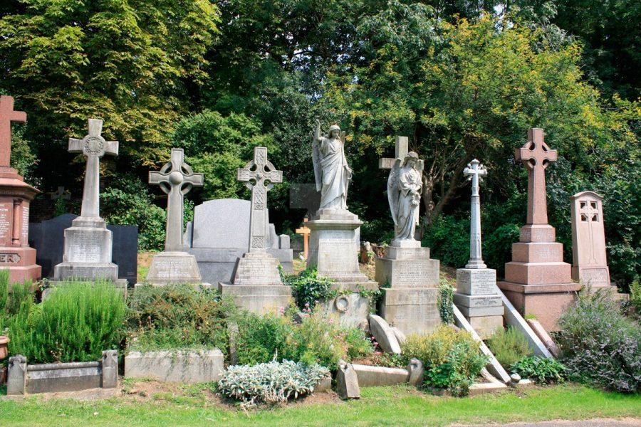 Лондонское Хайгейтское кладбище