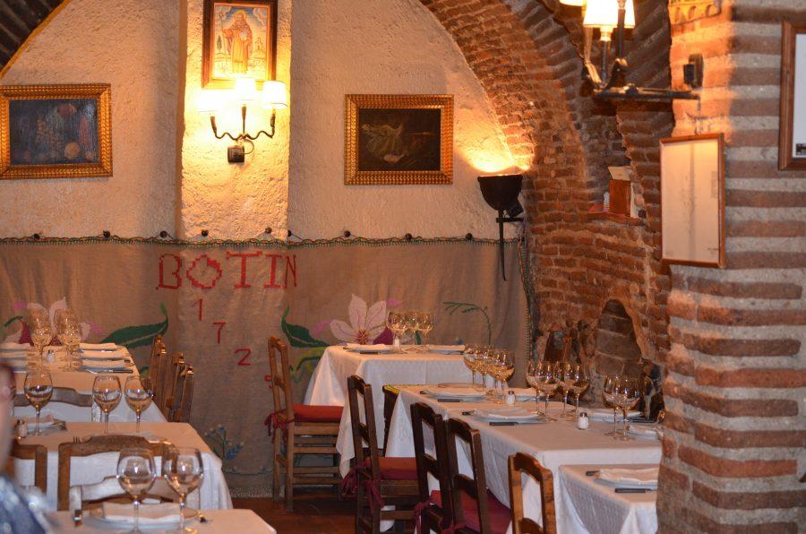 Botin один из самых старых ресторанов