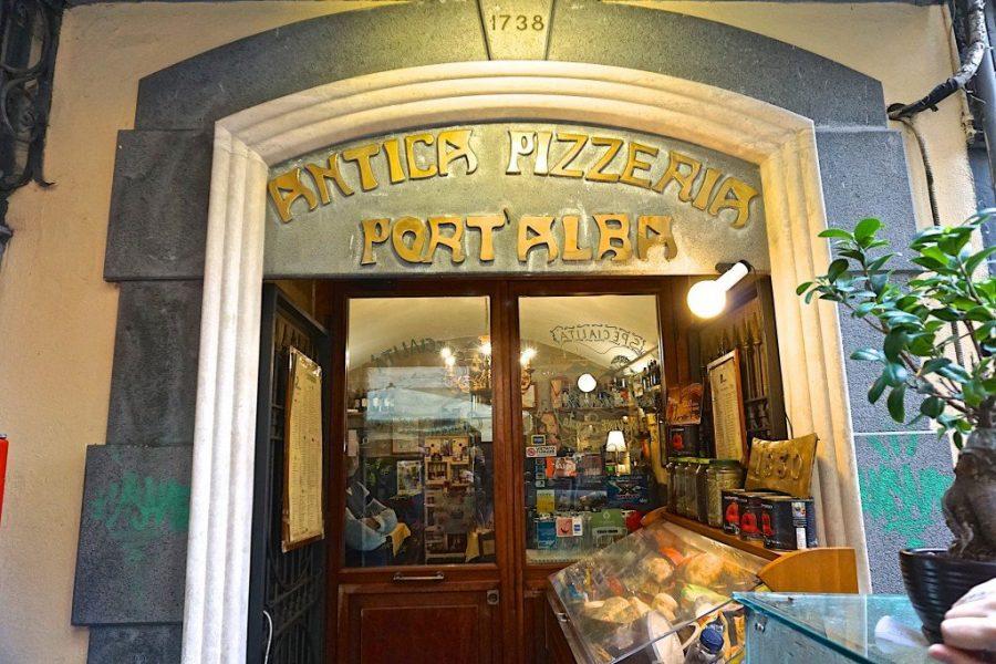 Старинная Antica Pizzeria Port Alba
