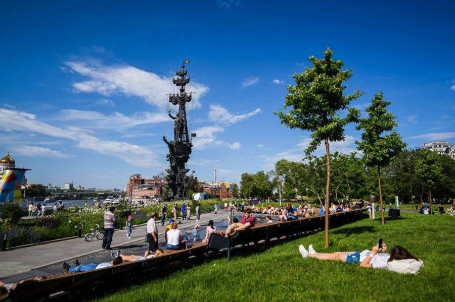 Парк искусств Музеон в Москве