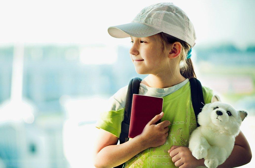 Поездка ребенка за рубеж
